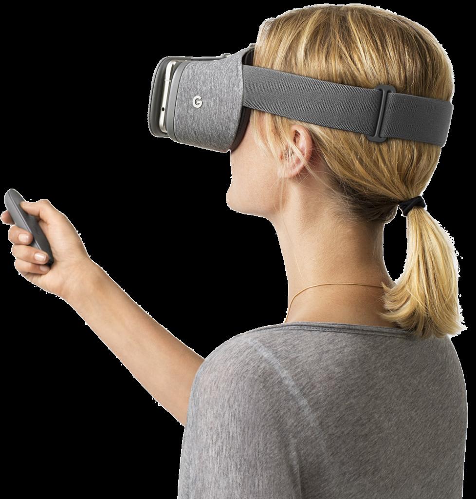 Daydream View VR headset
