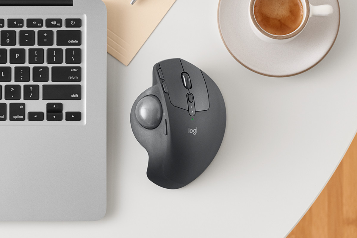 Logitech Trackball Mouse Launched