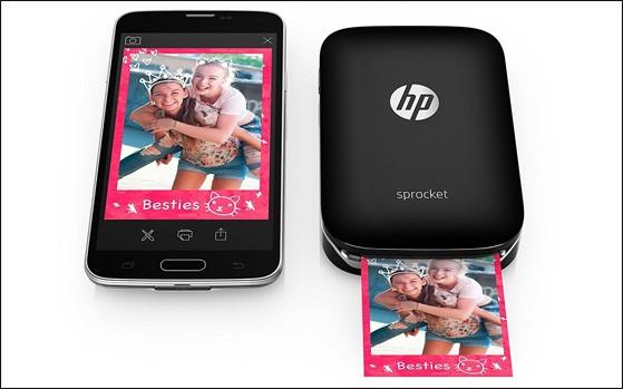 HP Sprocket Pocket Sized Printer